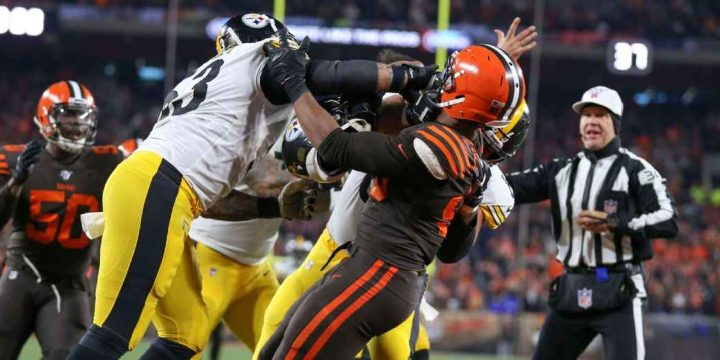 Steelers' Maurkice Pouncey has 'no regrets' about role in fight vs. Browns