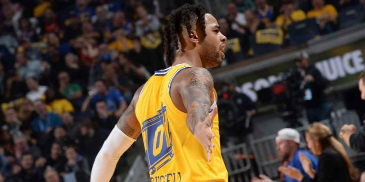 Warriors lose D'Angelo Russell for at least 2 weeks with sprained thumb