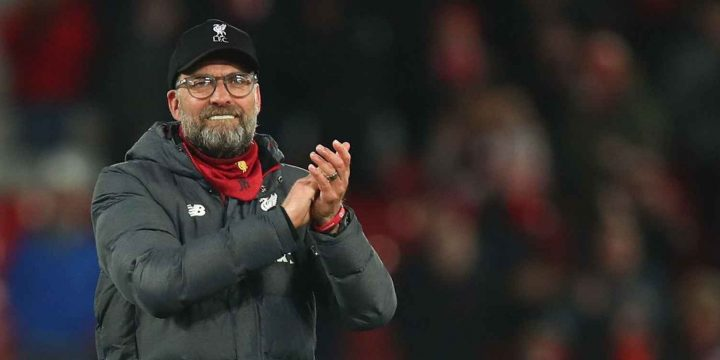 Liverpool's Klopp brought to tears by people singing YNWA for nurses