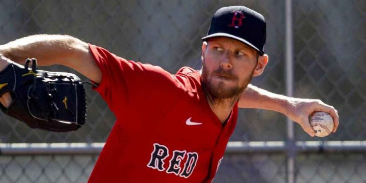 Red Sox pitcher Chris Sale undergoes MRI for sore elbow