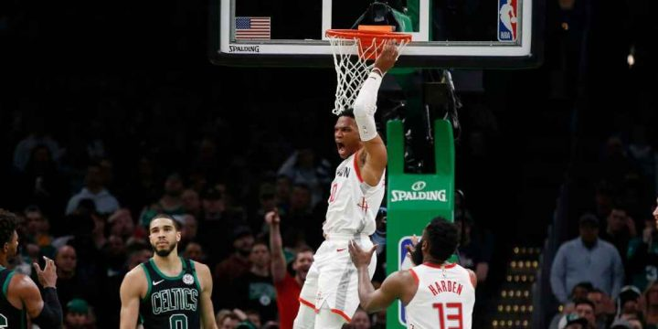 Russell Westbrook, Rockets' 'other MVP,' torches Celtics in OT win