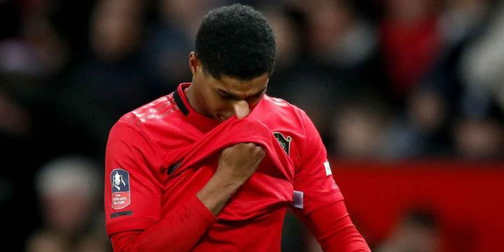 Manchester United's Rashford stepping up recovery from back injury
