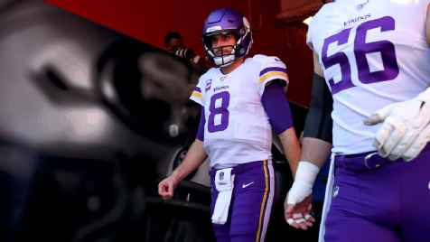 Vikings QB Kirk Cousins: Playing football without pomp and circumstance could be 'refreshing'