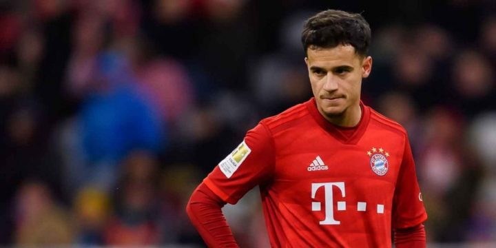 Chelsea eye Coutinho with United winning Sancho race – sources