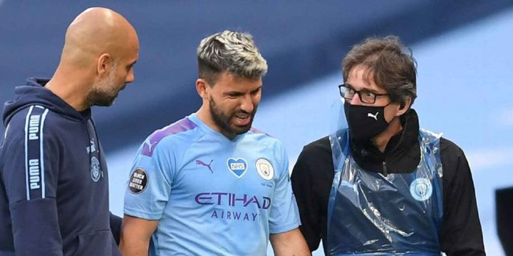 Manchester City's Pep Guardiola on Sergio Aguero injury: 'Doesn't look good'