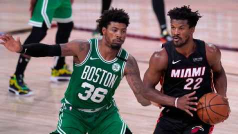 Miami Heat's Jimmy Butler says playing from behind 'gets old'
