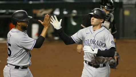 Rockies roll past Diamondbacks 10-3 despite four errors