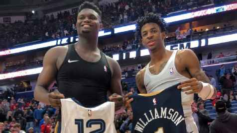 Ja Morant, Zion Williamson headline NBA's All-Rookie First Team
