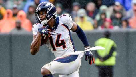 Denver Broncos WR Courtland Sutton (ACL) out for season, QB Drew Lock out 3-5 weeks
