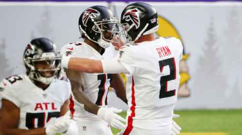 Atlanta Falcons hold on to big lead, clobber Minnesota Vikings for first win of season