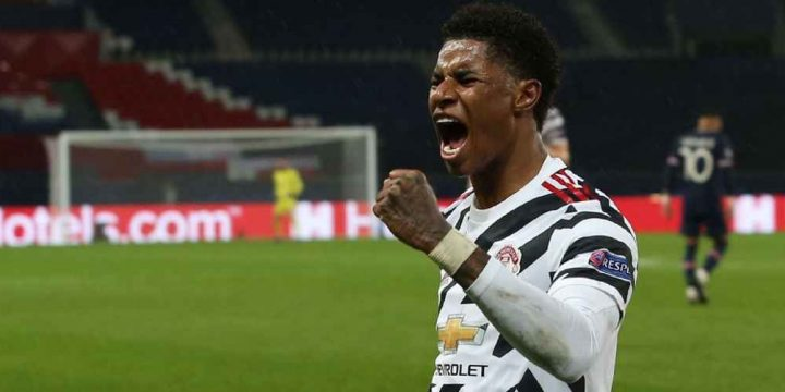 Rashford outdoes Neymar, Mbappe to star as Man United's Paris hero again