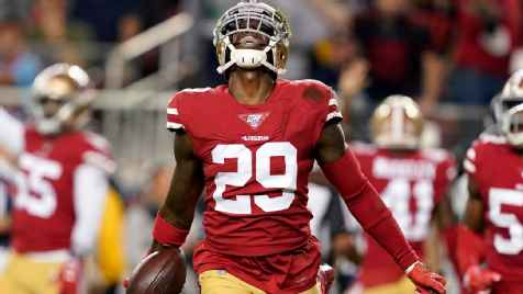 San Francisco 49ers to be without starting safeties Jaquiski Tartt, Jimmie Ward on Sunday