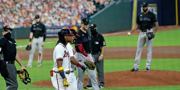 Atlanta Braves say Ronald Acuna Jr. plunking 'woke us up' as bad blood with Miami Marlins resurfaces