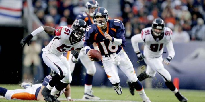Ex-Broncos QB Jake Plummer on 499-yard day vs. Falcons: 'I remember we lost'