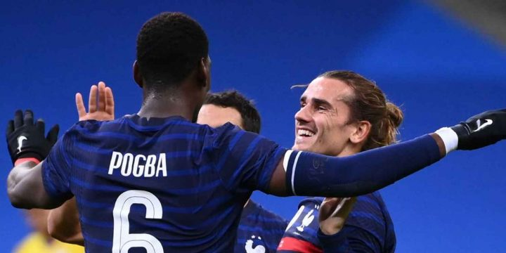 Manchester United's Paul Pogba calls France duty breath of fresh air