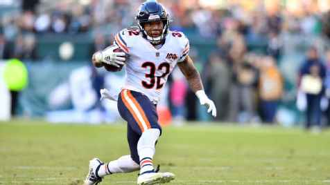 Chicago Bears RB David Montgomery in concussion protocol