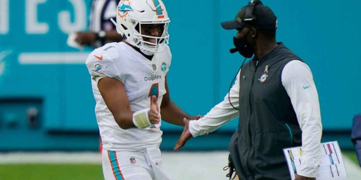 A 365-day turnaround: Brian Flores' Dolphins go from NFL worst to good